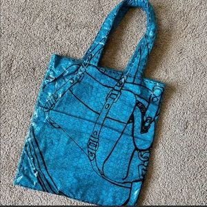 Marc By Marc Jacobs Blue Groovee Tote.